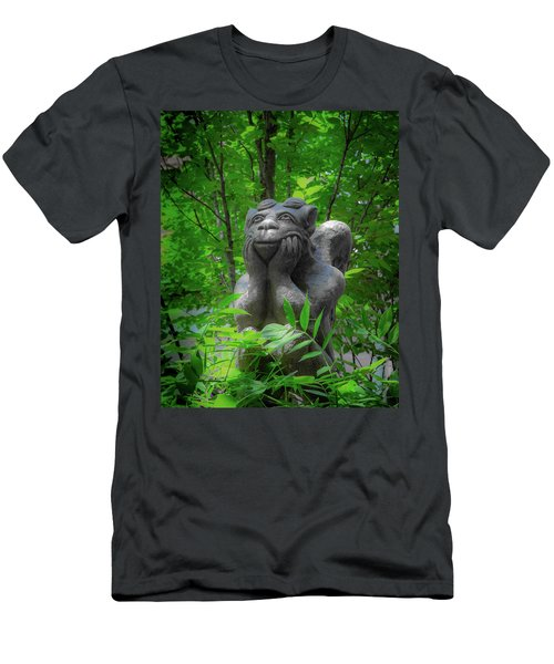 Daydreaming Gargoyle Men's T-Shirt (Athletic Fit)