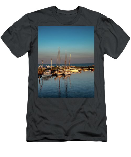 Deal Island Sunrise  Men's T-Shirt (Athletic Fit)