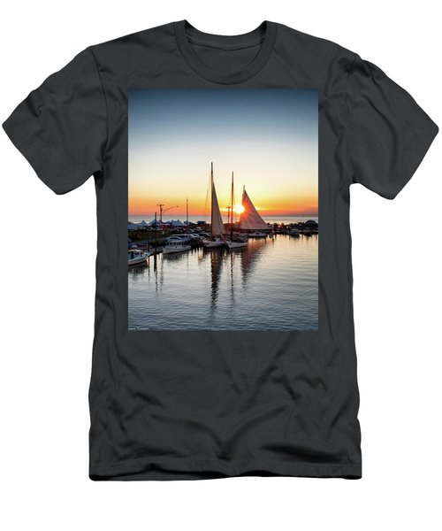 Deal Island Sunset  Men's T-Shirt (Athletic Fit)