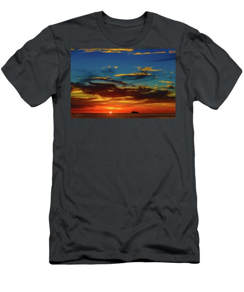 December 17 Sunset Men's T-Shirt (Athletic Fit)