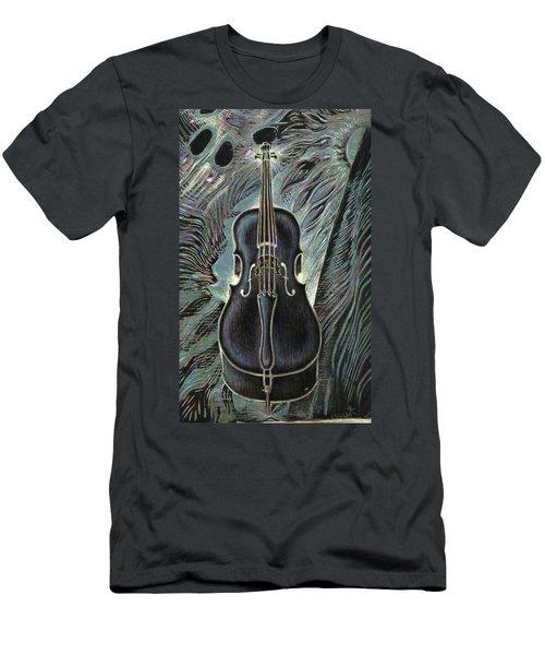 Deep Cello Men's T-Shirt (Athletic Fit)