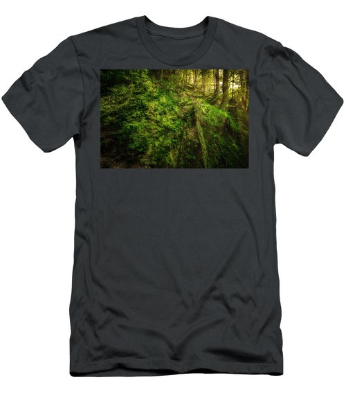 Men's T-Shirt (Athletic Fit) featuring the photograph Deep In The Forests Of Bavaria by David Morefield