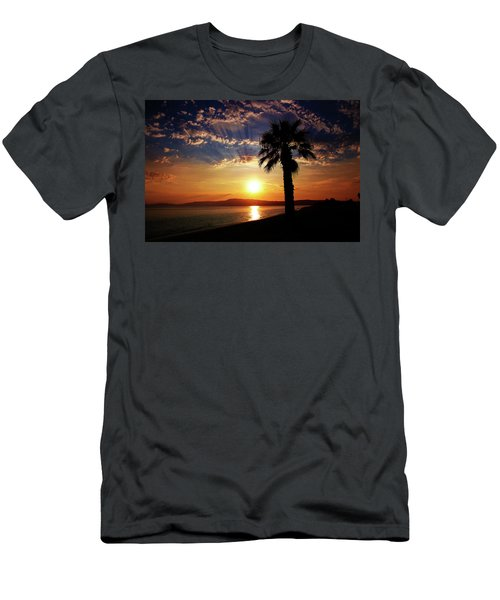 Men's T-Shirt (Athletic Fit) featuring the photograph Deep Serene  by Milena Ilieva