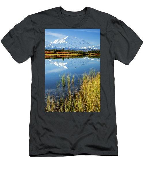 Denali Reflection Men's T-Shirt (Athletic Fit)