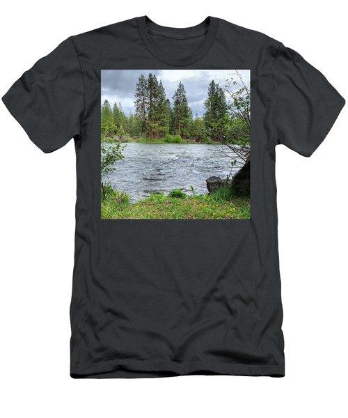 Deschutes River Men's T-Shirt (Athletic Fit)