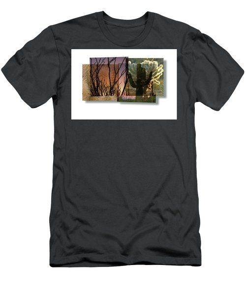 Men's T-Shirt (Athletic Fit) featuring the photograph Desert Suite No 3 by Mark Shoolery