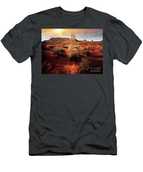 Desert Sun Men's T-Shirt (Athletic Fit)