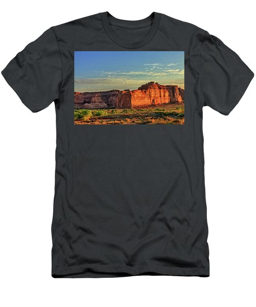 Desert Sunrise In Color Men's T-Shirt (Athletic Fit)