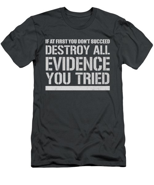 Destroy Evidence Men's T-Shirt (Athletic Fit)