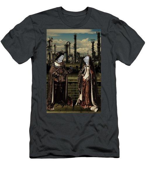 Dialog Men's T-Shirt (Athletic Fit)
