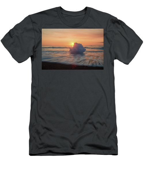Diamond Beach Sunrise Iceland Men's T-Shirt (Athletic Fit)