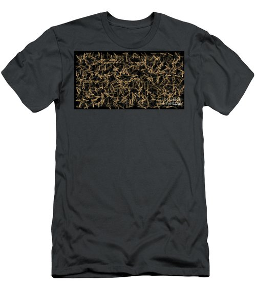 Digital Web Of Daz Men's T-Shirt (Athletic Fit)