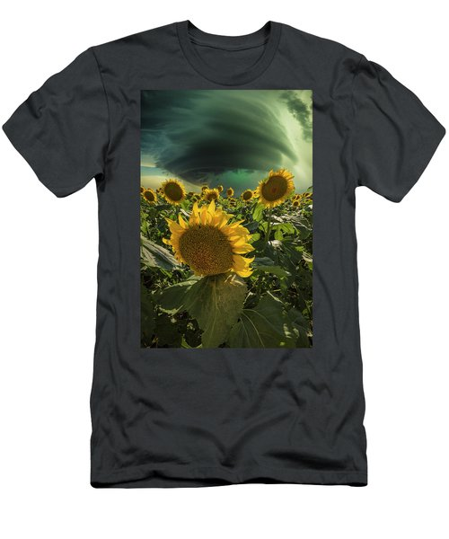 Men's T-Shirt (Athletic Fit) featuring the photograph Disarray  by Aaron J Groen