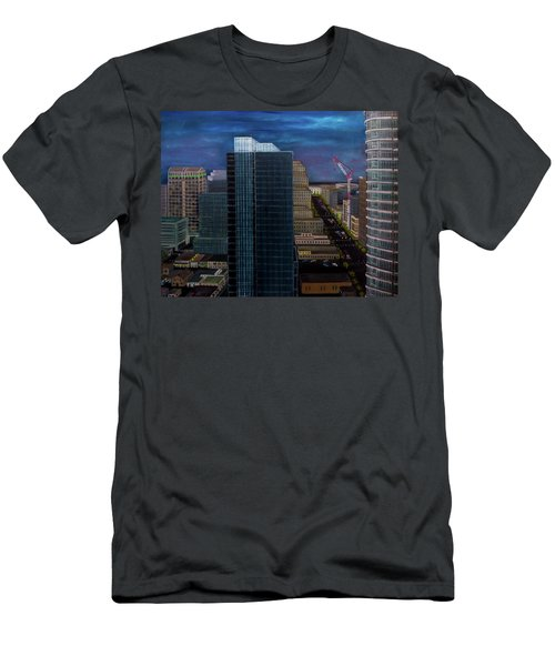 Discordant Chords Men's T-Shirt (Athletic Fit)