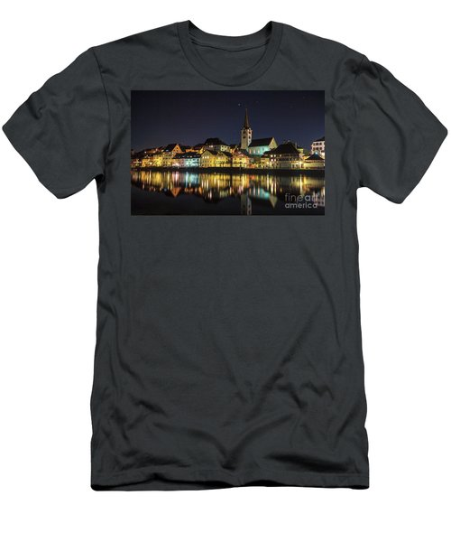 Dissenhofen On The Rhine River Men's T-Shirt (Athletic Fit)