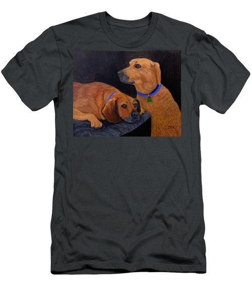Dog Love Men's T-Shirt (Athletic Fit)