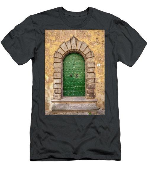 Door Six Of Cortona Men's T-Shirt (Athletic Fit)