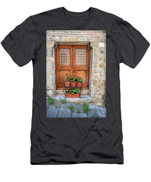 Door Thirteen Of Tuscany Men's T-Shirt (Athletic Fit)