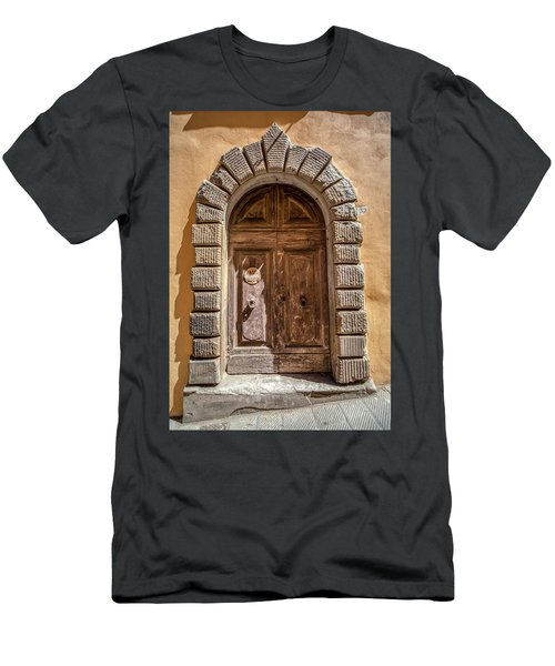 Door Thirty Two Of Tuscany Men's T-Shirt (Athletic Fit)
