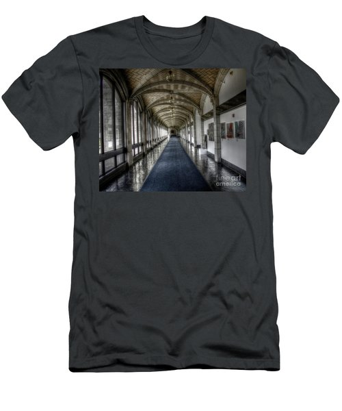Down The Hall Men's T-Shirt (Athletic Fit)