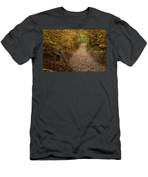 Down The Trail Men's T-Shirt (Athletic Fit)