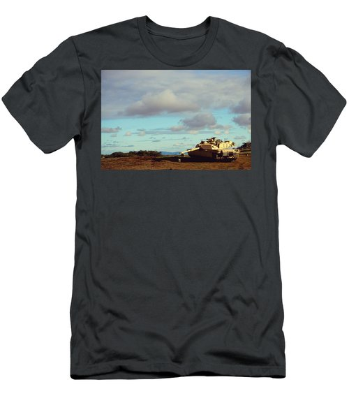 Downed But Not Out Men's T-Shirt (Athletic Fit)