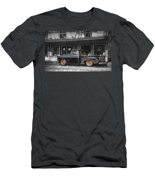 Downtown Truck Men's T-Shirt (Athletic Fit)