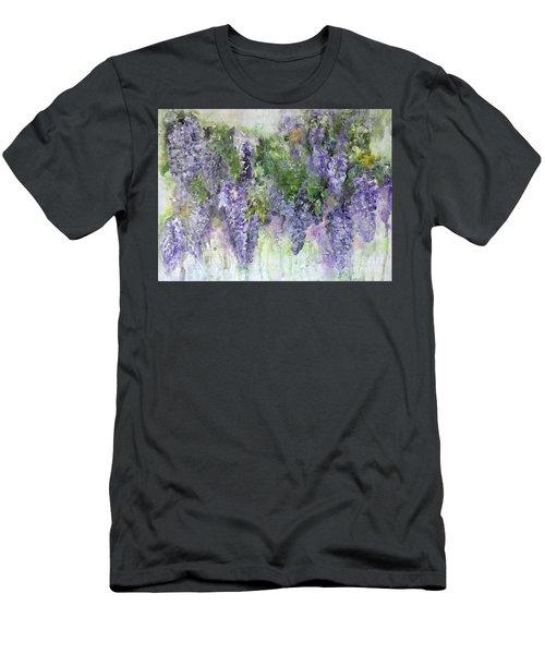 Monet's Garden Men's T-Shirt (Athletic Fit)