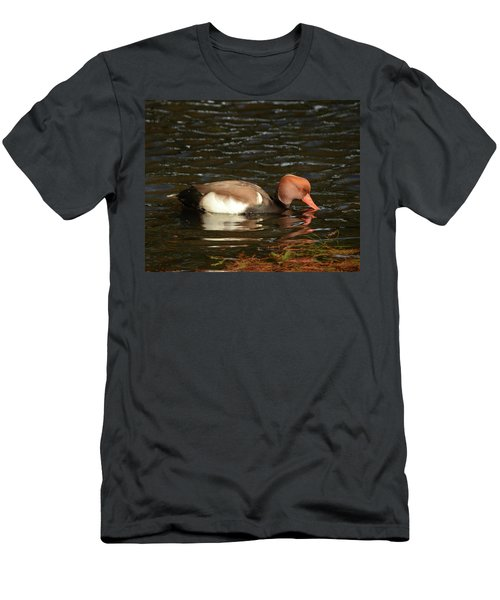 Duck On Water Men's T-Shirt (Athletic Fit)