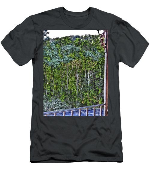 Early Morn Windblown Web Men's T-Shirt (Athletic Fit)
