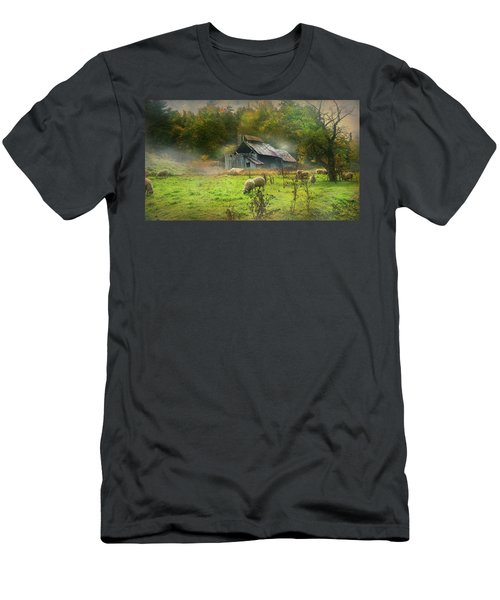 Early Morning Grazing Men's T-Shirt (Athletic Fit)