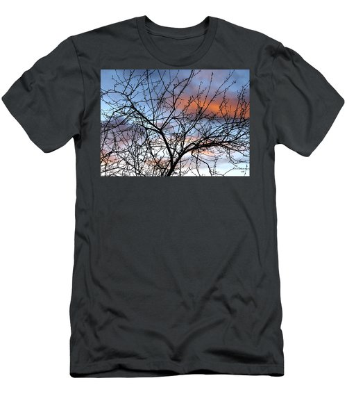 Early Spring Silhouette Men's T-Shirt (Athletic Fit)