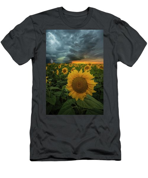 Men's T-Shirt (Athletic Fit) featuring the photograph Eccentric  by Aaron J Groen