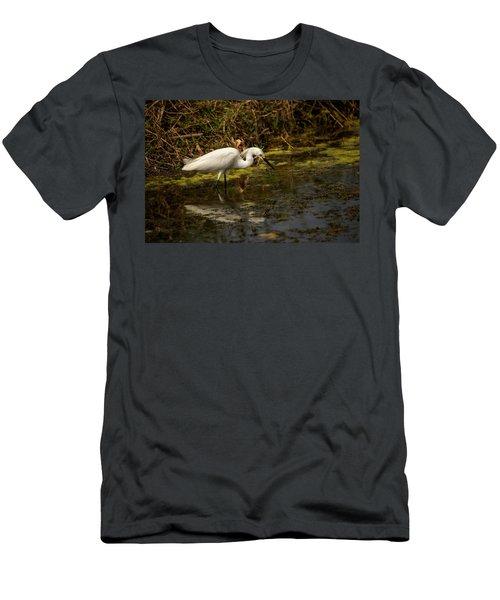 Egret Hunts Men's T-Shirt (Athletic Fit)