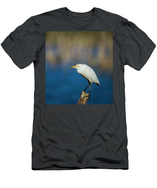 Egret On A Stick Men's T-Shirt (Athletic Fit)