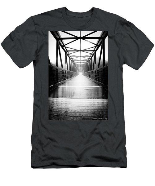 Elora Bridge Men's T-Shirt (Athletic Fit)