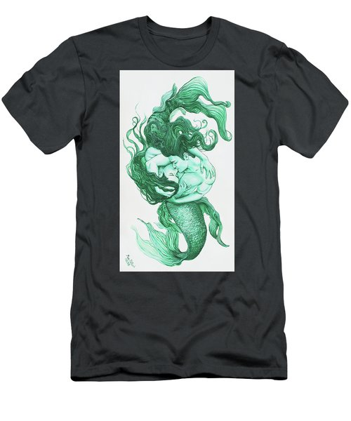 Embracing Mermen Men's T-Shirt (Athletic Fit)