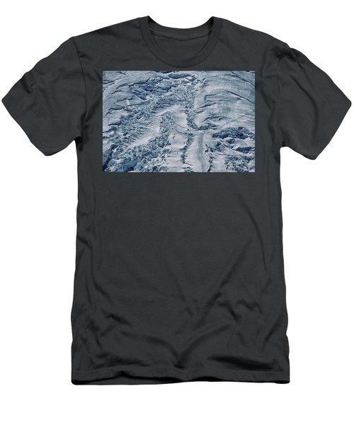 Emmons Glacier On Mount Rainier Men's T-Shirt (Athletic Fit)