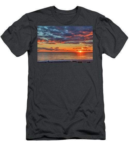End Of Day Light Show Men's T-Shirt (Athletic Fit)