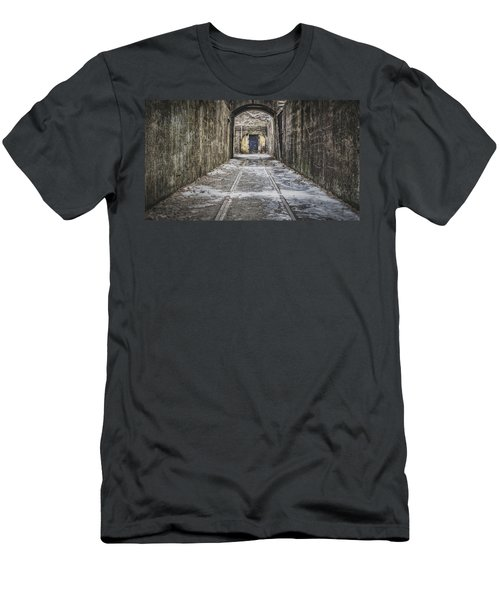 End Of The Tracks Men's T-Shirt (Athletic Fit)