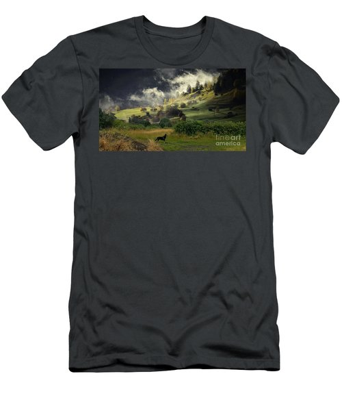 English Countryside Men's T-Shirt (Athletic Fit)