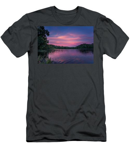 Evening At Springfield Lake Men's T-Shirt (Athletic Fit)