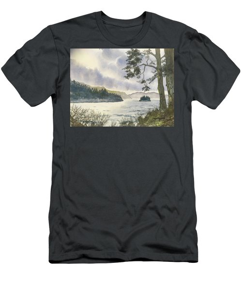 Evening On Derwentwater Men's T-Shirt (Athletic Fit)