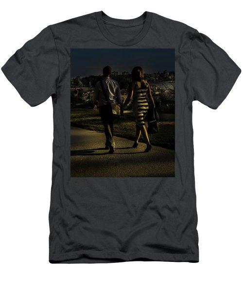 Evening Walk Men's T-Shirt (Athletic Fit)