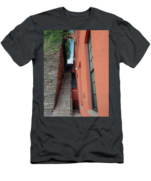 Exorcist Stairs Beauty Men's T-Shirt (Athletic Fit)