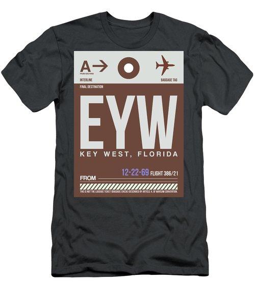 Eyw Key West Luggage Tag II Men's T-Shirt (Athletic Fit)