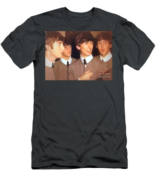 Fab Beatles Men's T-Shirt (Athletic Fit)