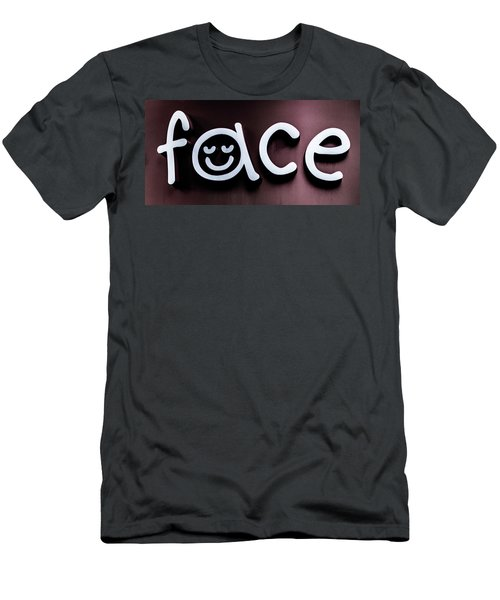 Face Men's T-Shirt (Athletic Fit)