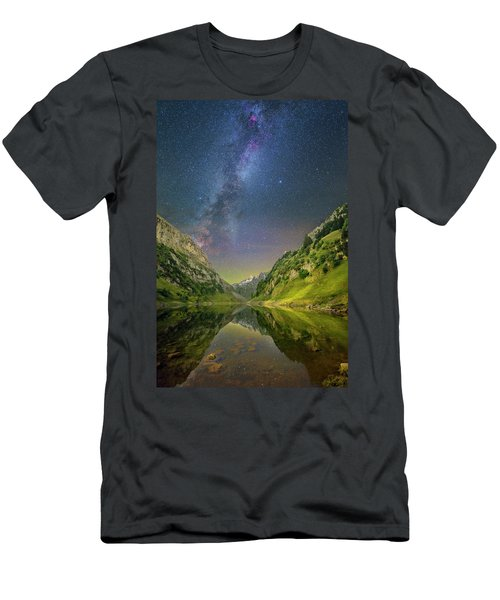 Faelensee Nights Men's T-Shirt (Athletic Fit)
