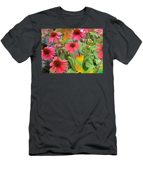 Fairy Among The Flowers Men's T-Shirt (Athletic Fit)